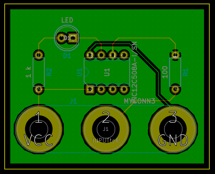 Tutorial circuit board