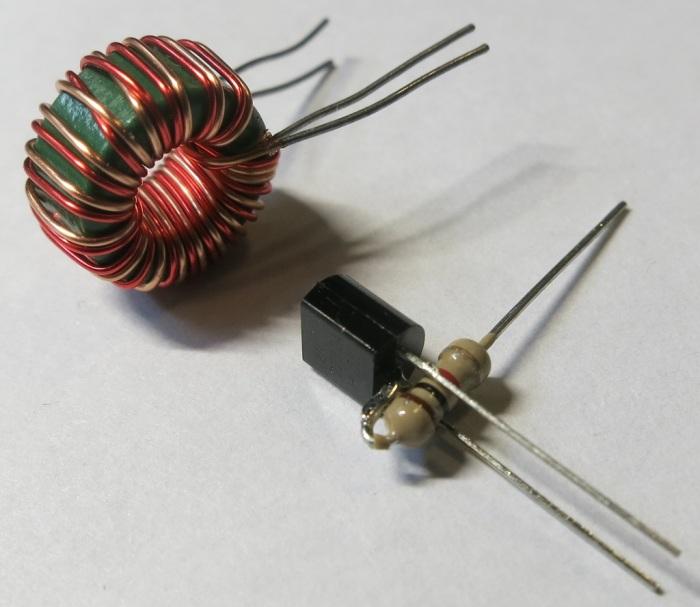 3 - Transistor Resistor Coil