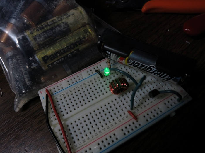 Joule Thief v1