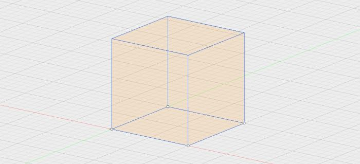 Cube on Sketch