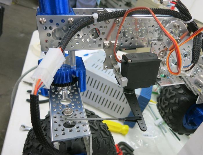 Rover Servo Steering Hack