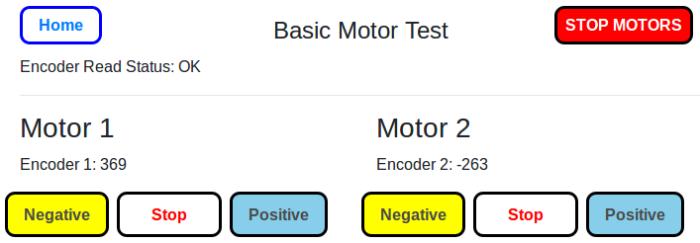 Basic Motor Test