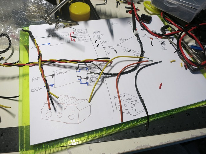 Building Sawppy Wiring Harness