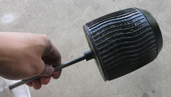 Sawppy Wheel Dip 4 - Handheld