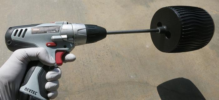 Sawppy Wheel Dip 5 - Motorized