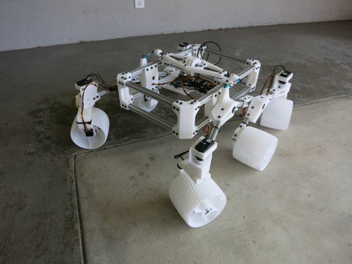 Servo Rover