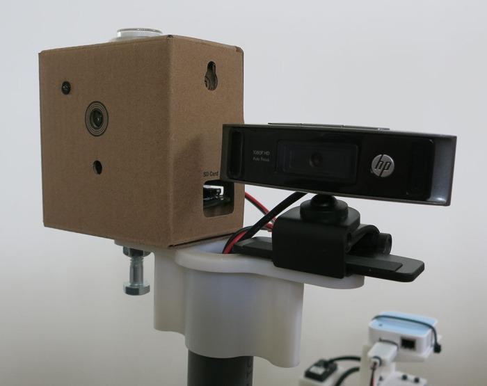 Camera platform - front