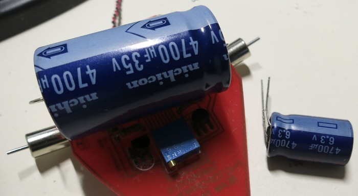 Photopopper Capacitor