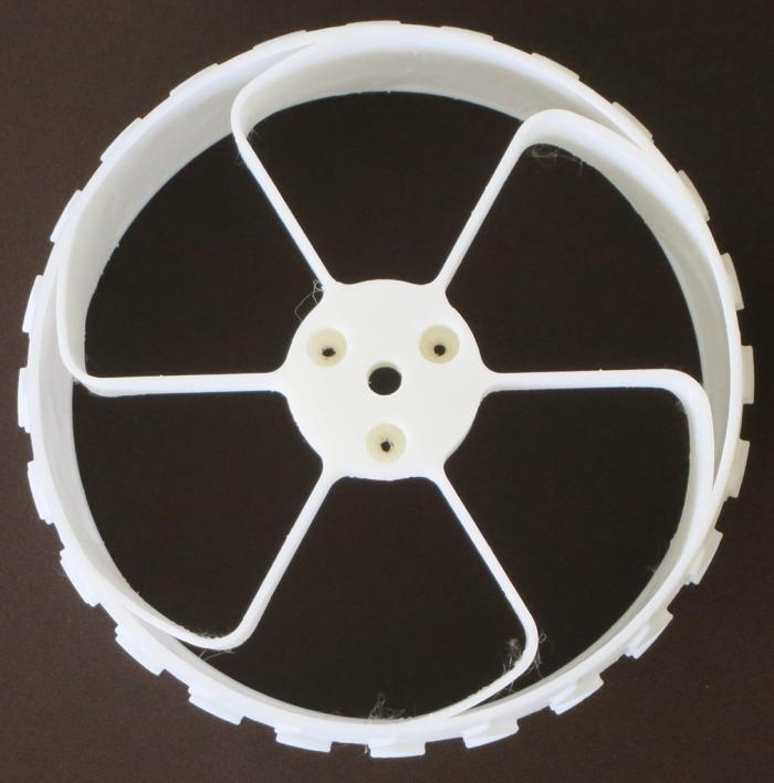 Sawppy Wheel v1