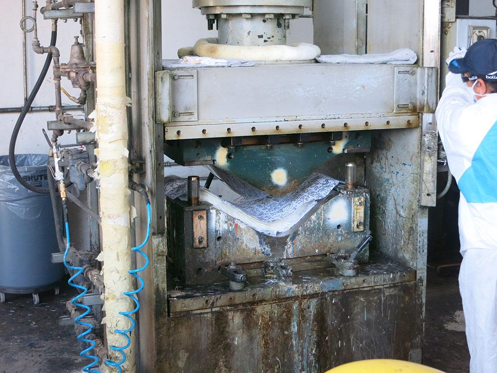 Modernica 60 - Hydraulic press