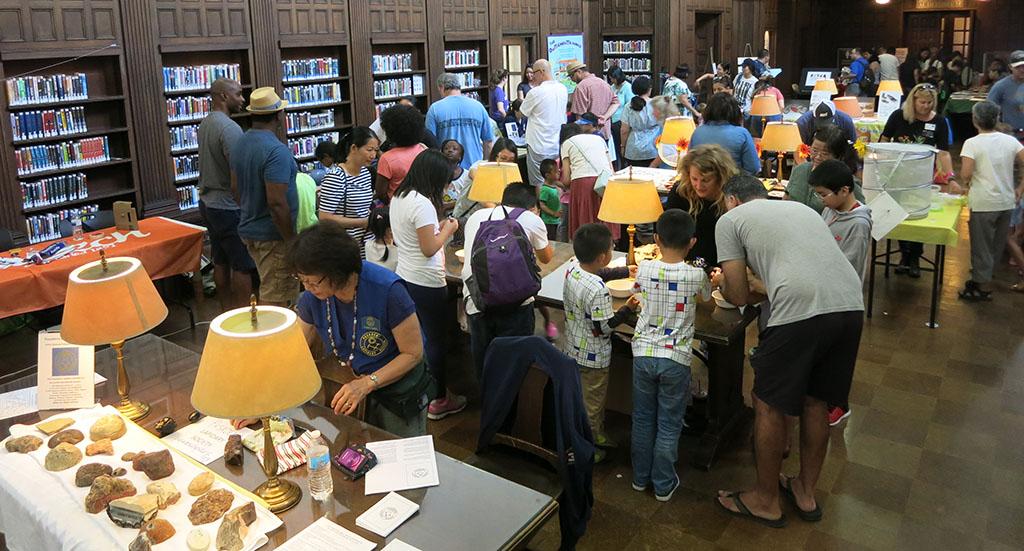 Pasadena Library STEAM fair