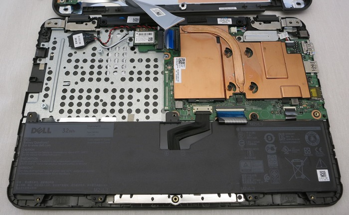 Dell 3180 opened