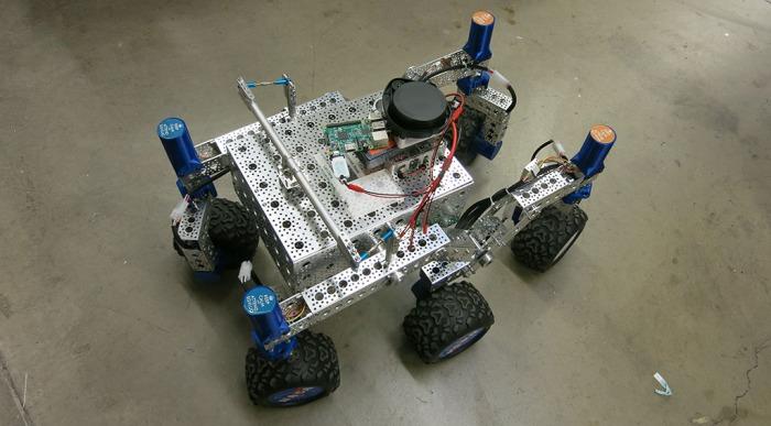 Neato LIDAR on SGVHAK Rover