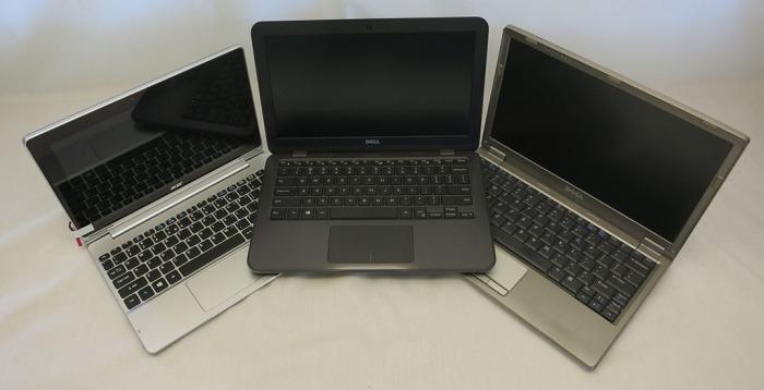 Small Laptop Trio