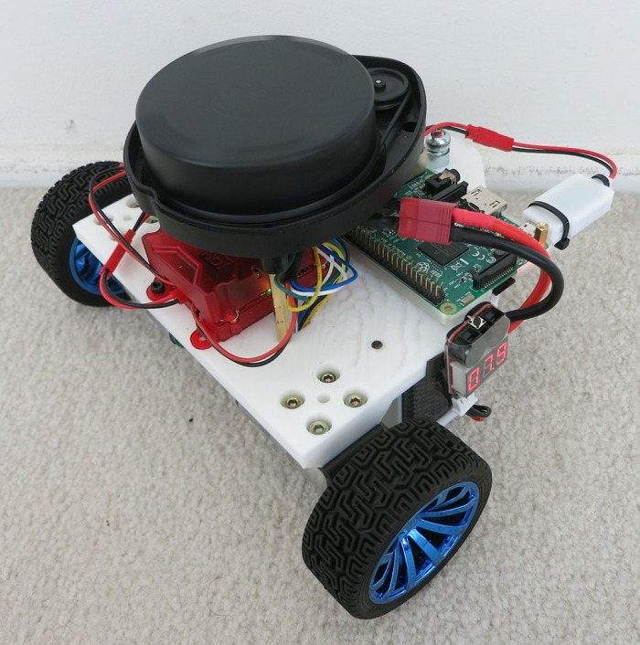 Phoebe TurtleBot Stage 3 LIDAR