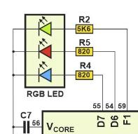 Belgrade Badge LEDs
