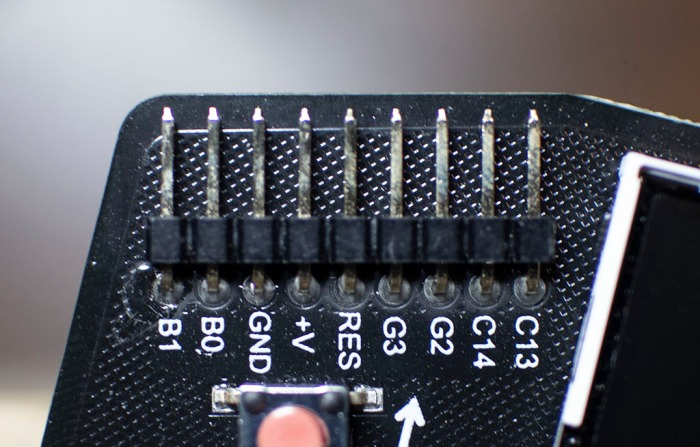 Hackaday Badge Expansion Header