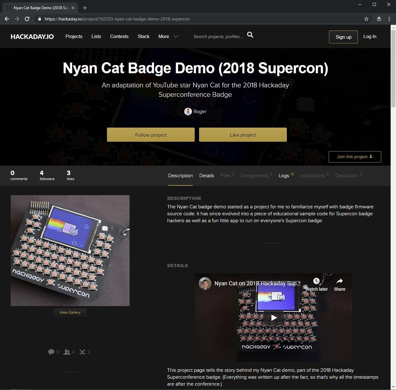 Nyan Cat on .io