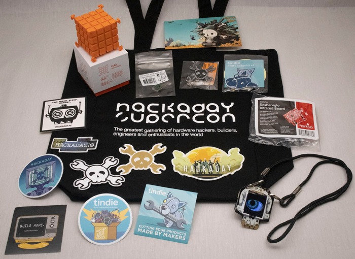 Supercon2018 Goodie Bag