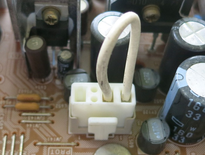 Power board curious connector