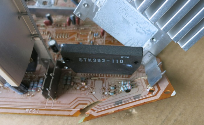 Power board mechanical removal