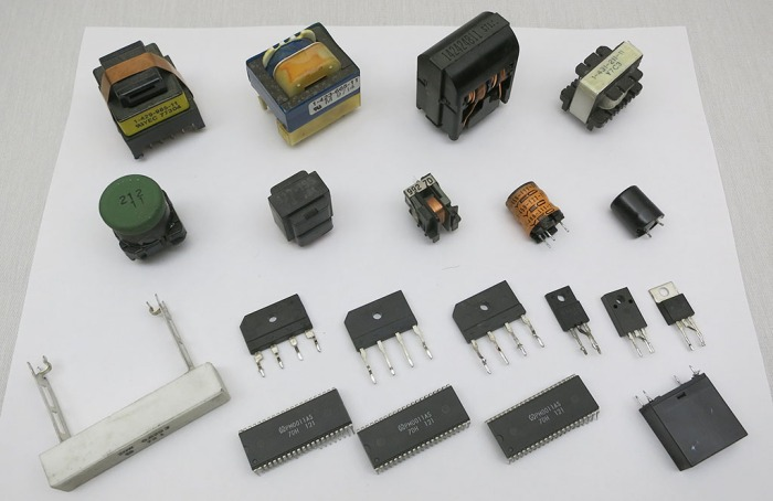 Power board misc parts