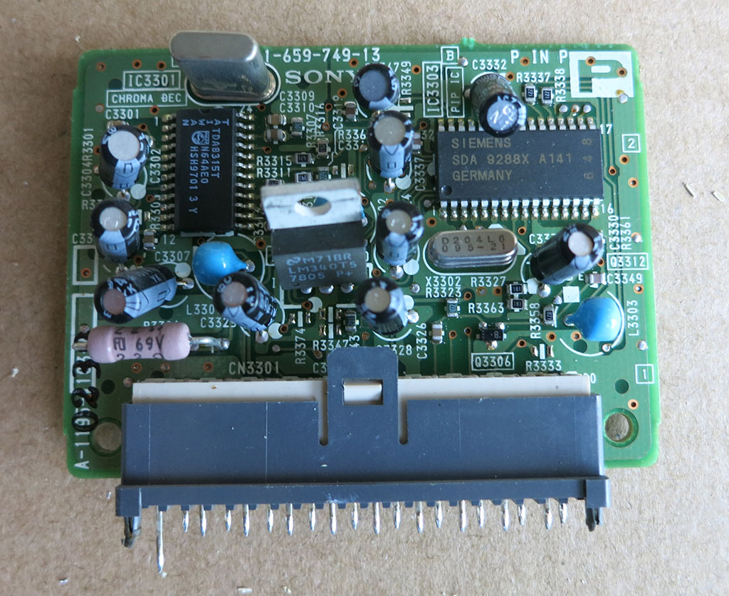 Electronic Components New Screwdriver Electronics Lesson Parts Pictures To Signal Board A Ntsc P After