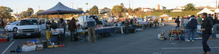 W6TRW amateur radio club swap meet
