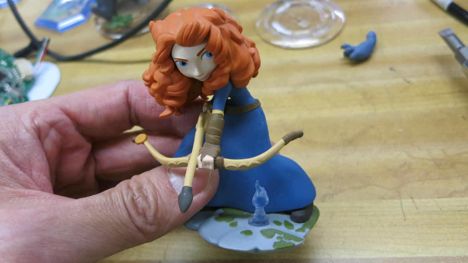 Disney Infinity 9 Merida wisp top