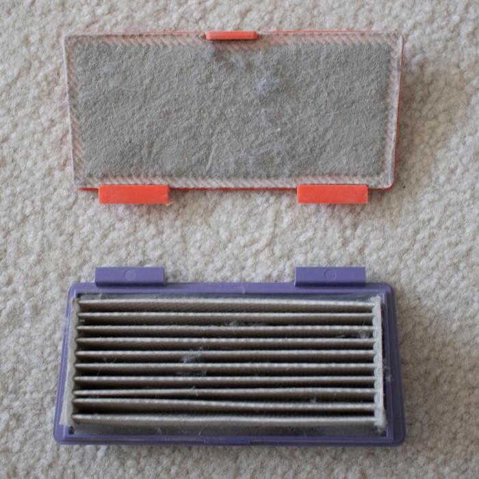 Neato filter comparison