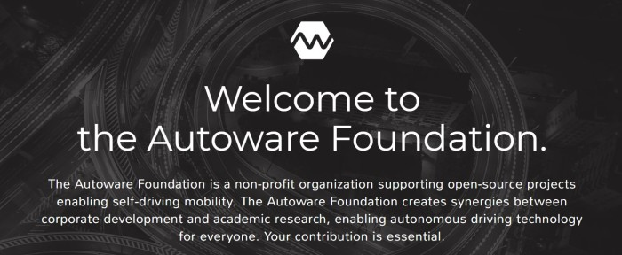 Autoware Foundation Banner