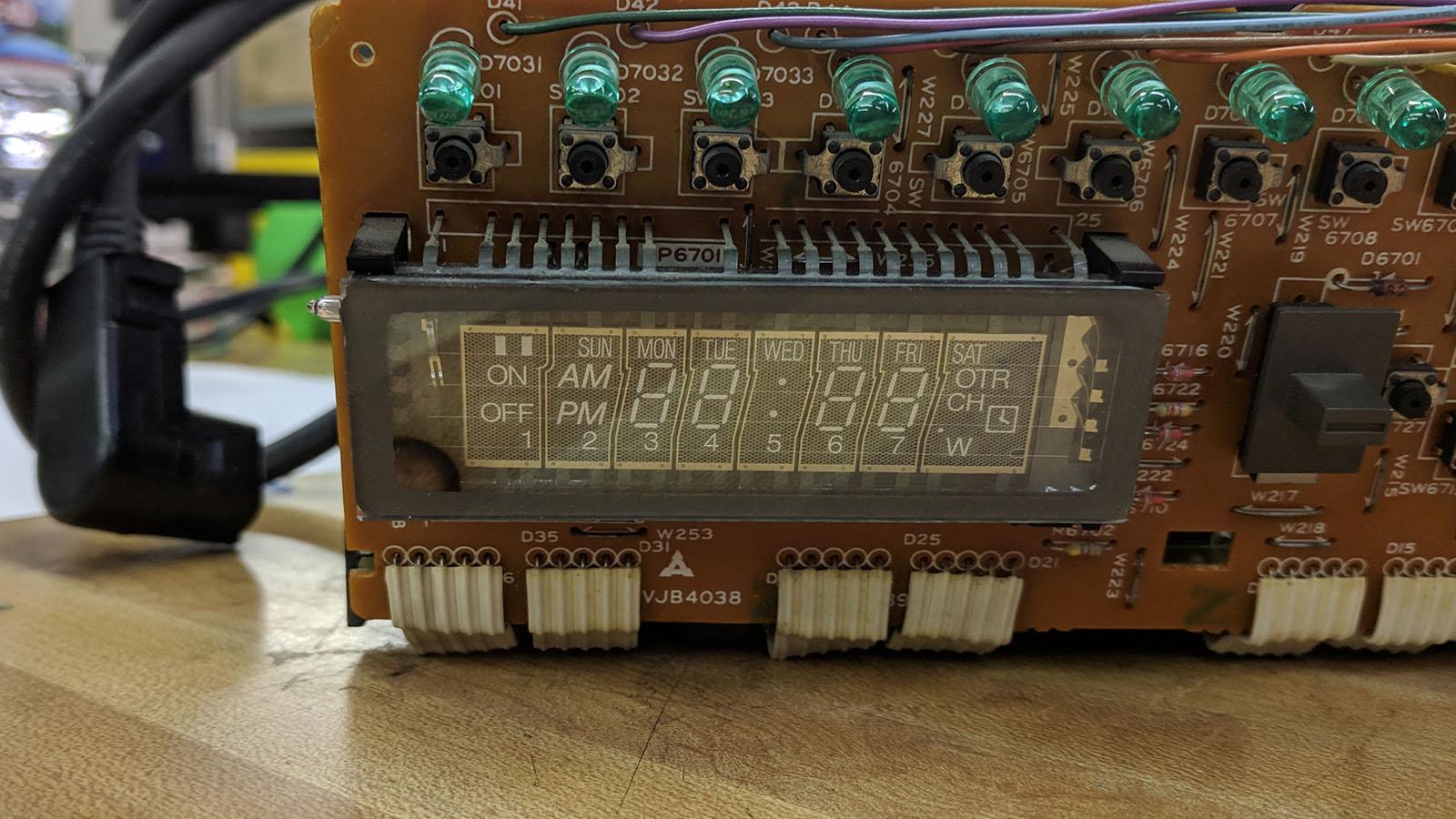 NEC VSL0010-A VFD Before
