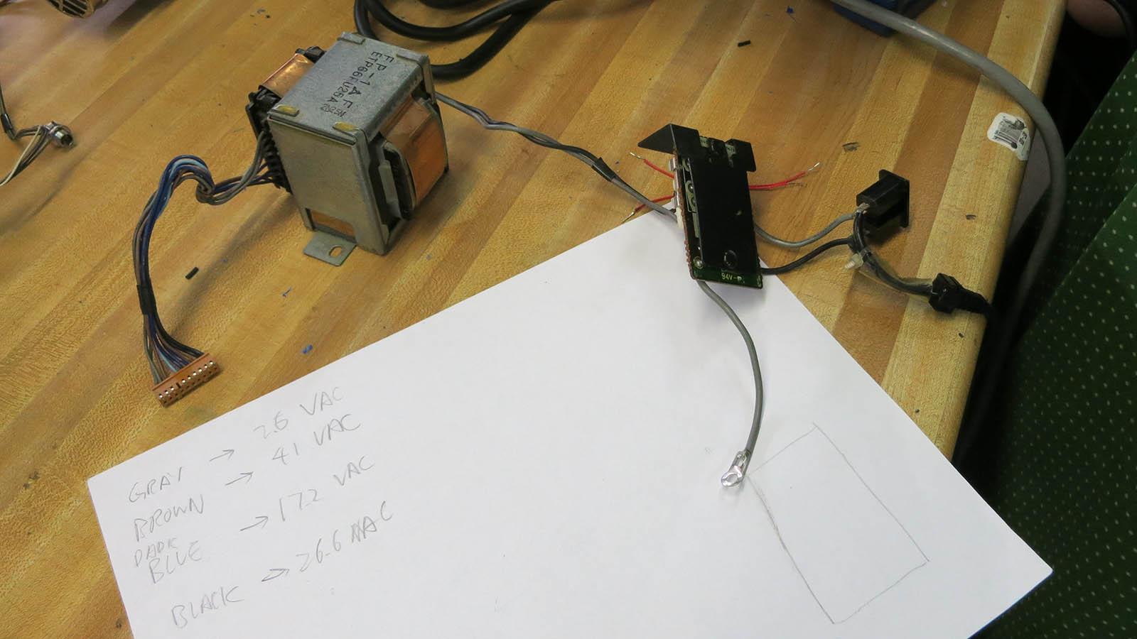 NEC VSL0010-A VFD Power Supply Transformer