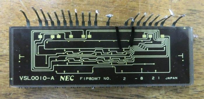 NEC VSL0010-A VFD Rear
