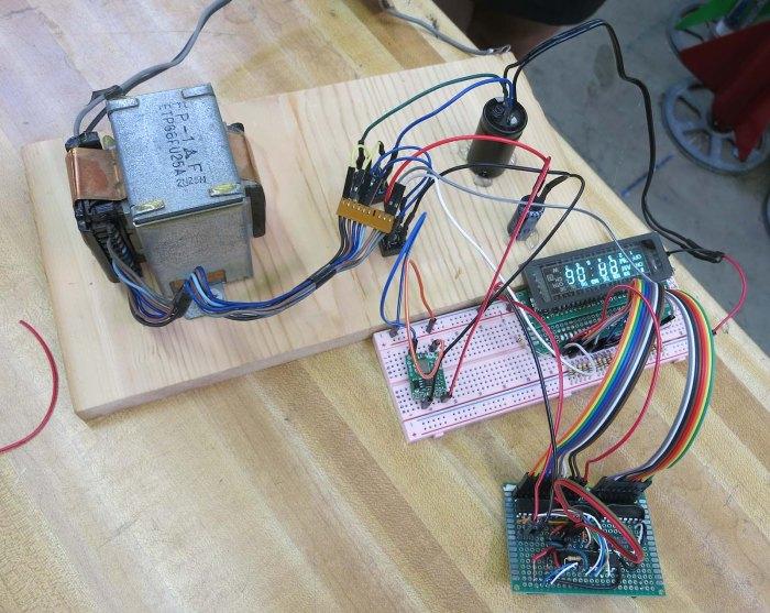 VFD on transformer