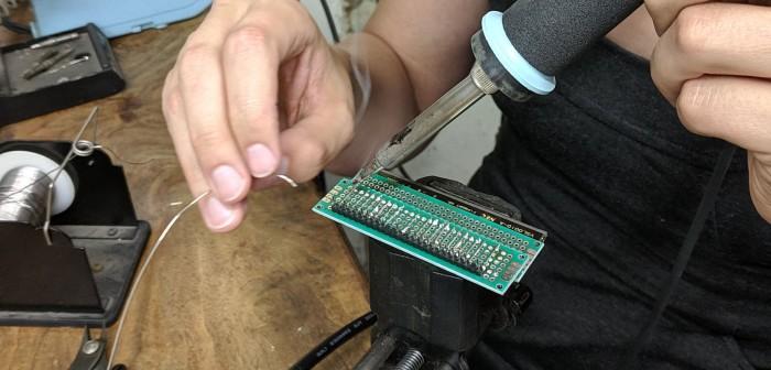 VFD second PCB