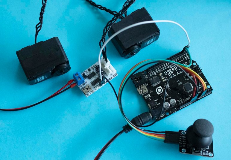 Arduino Control Of LewanSoul LX-16A Servo Via Joystick
