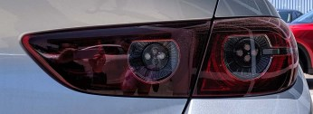 2019 Mazda3 sedan taillight