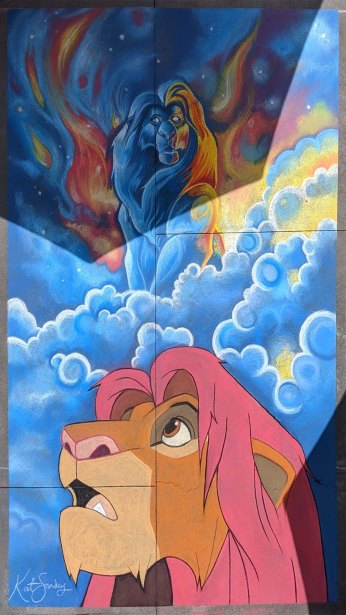 Chalk festival Lion King 20