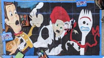 Chalk festival Toy Story 4 05