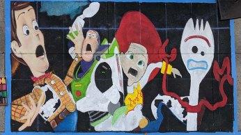 Chalk festival Toy Story 4 10