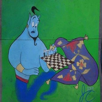 Genie carpet chess 20