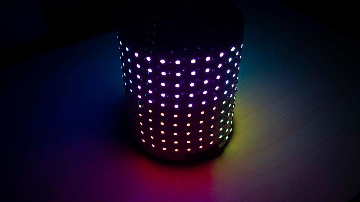 Pixelblaze Pattern: RGB-XYZ 3D Octants