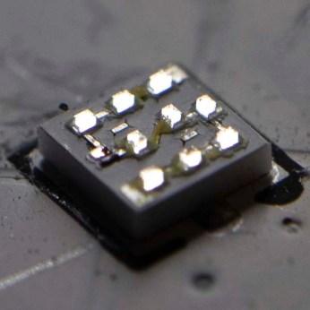Damaged 10 LED module bottom