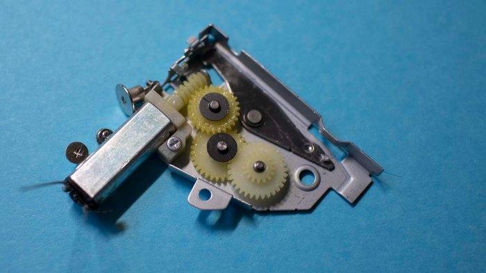 Panasonic UJ-867 60 eject motor gearbox