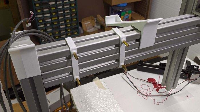 Grbl ESP32 test mount 2