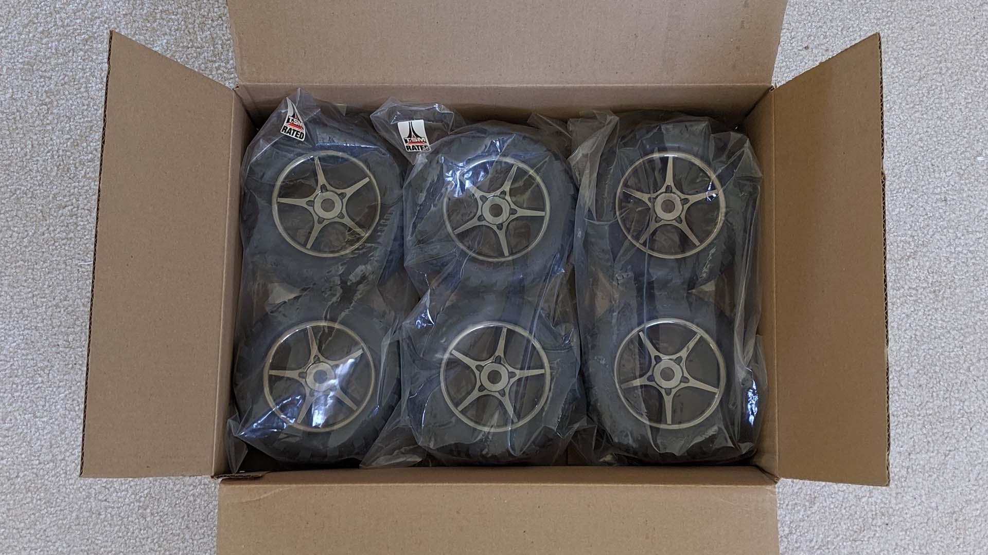 Traxxas tire shipping expectation