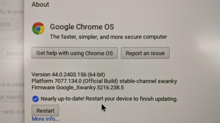 Chromebook 44.0.2403.156