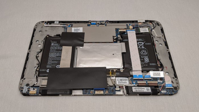 HP Split X2 13-r010dx tablet internals
