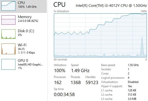 HP Split X2 13-r010dx receiving cooling